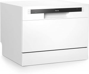 The HomeLabs Compact Countertop Dishwasher